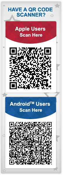 Android and Apple Users - Scan the QRCode to download our Free APP